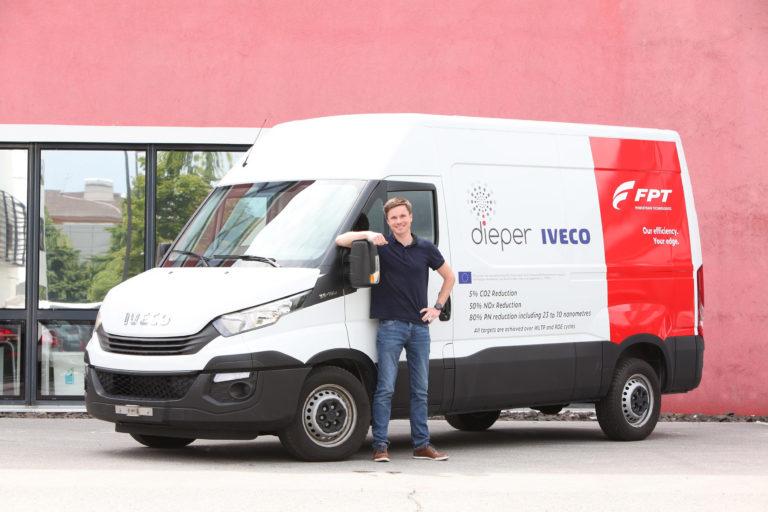 IVECO Lieferwagen im Projekt dieper